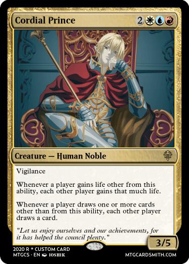 Cordial Prince
