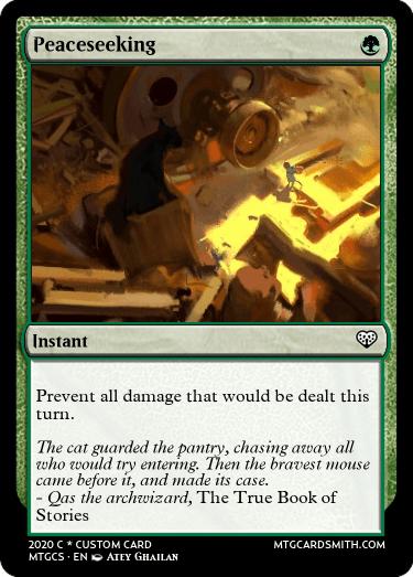 Peaceseeking