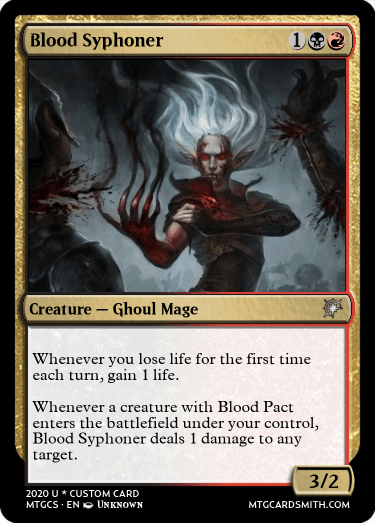 Blood Syphoner