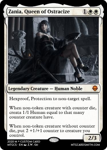 Zania Queen of Ostracize