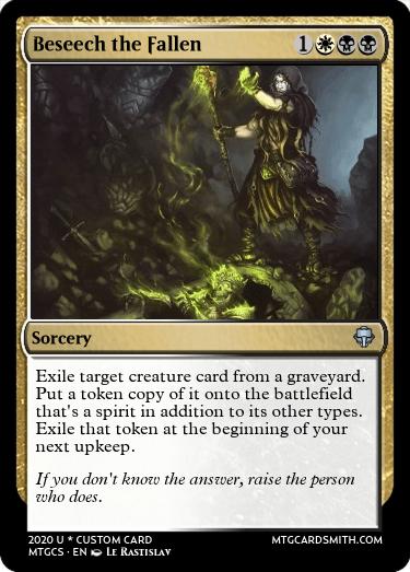 Beseech the Fallen