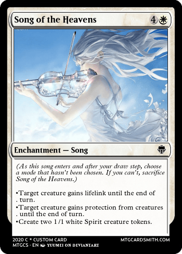 Song of the Heavens