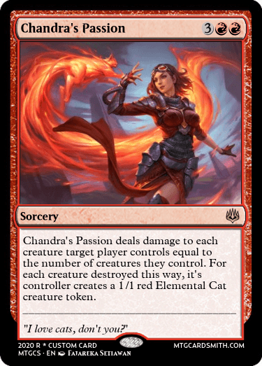 Chandra's Passion