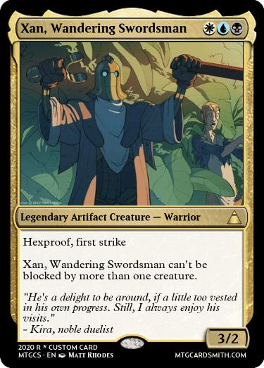 Xan Wandering Swordsman