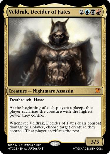 Veldrak Decider of Fates