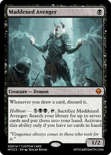 Maddened Avenger