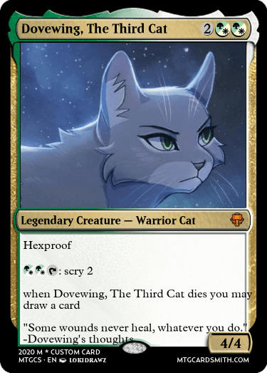 Dovewing, The Third Cat