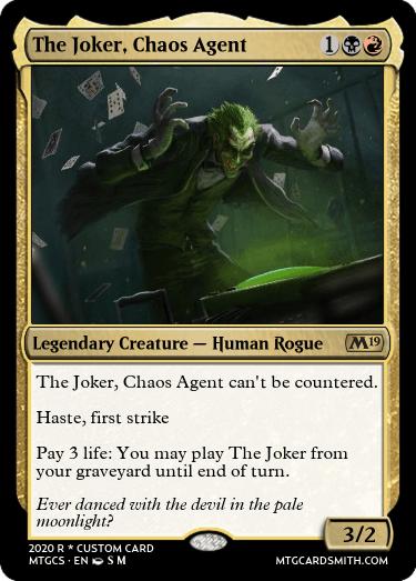The Joker Chaos Agent