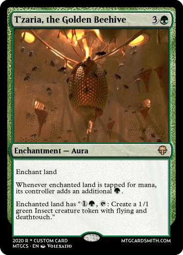 Tzaria the Golden Beehive