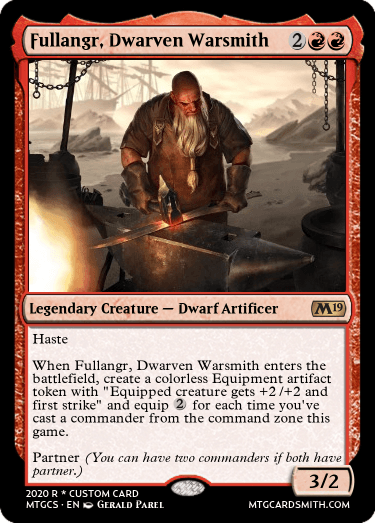 Fullangr Dwarven Warsmith