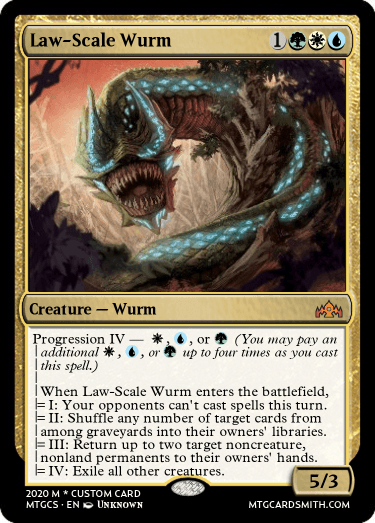 Law-Scale Wurm