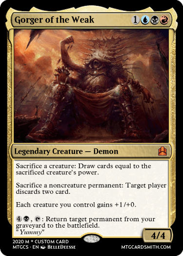Gorger of the Weak