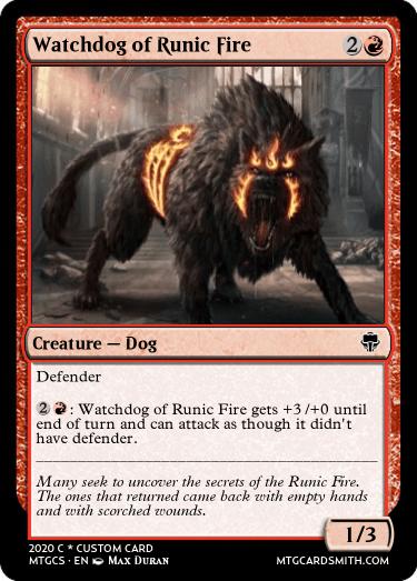 Watchdog of Runic Fire