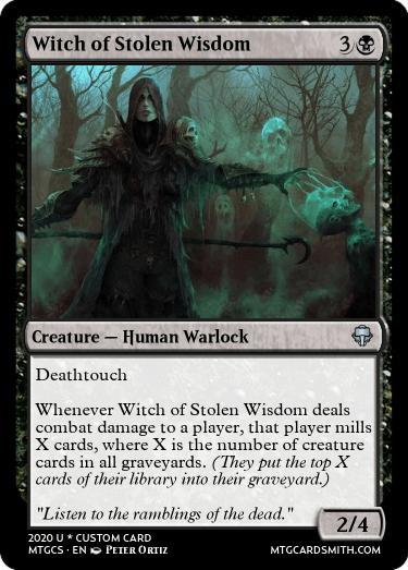 Witch of Stolen Wisdom