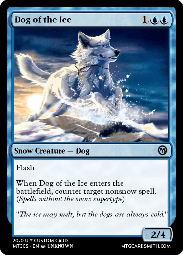 Dog of the Ice