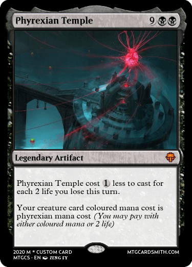 Phyrexian Temple