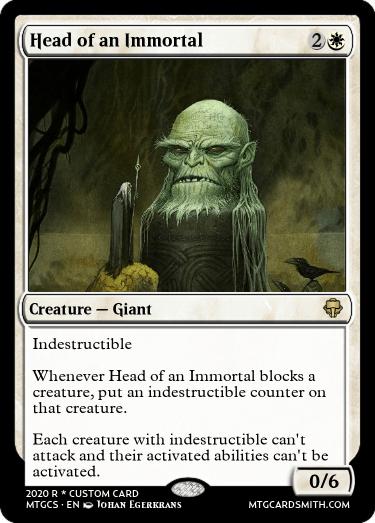 Head of an Immortal
