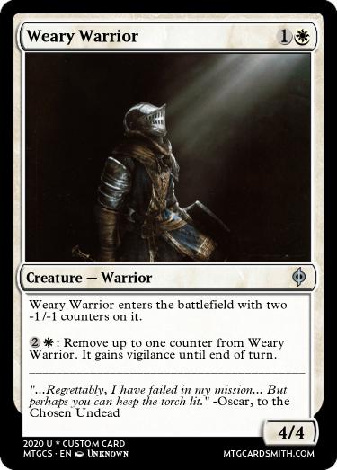 Weary Warrior