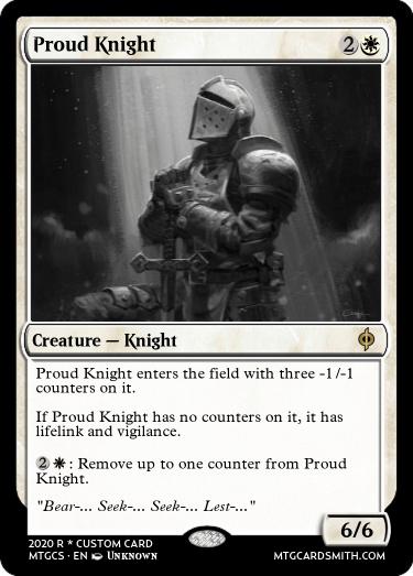 Proud Knight