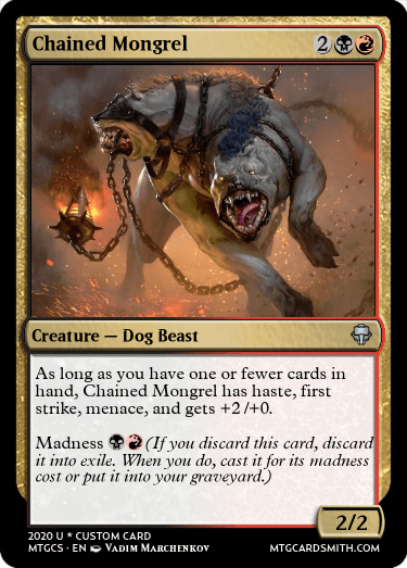 Chained Mongrel