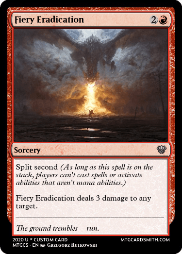 Fiery Eradication