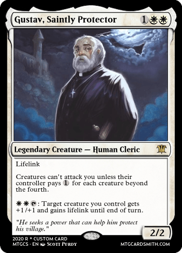 Gustav Saintly Protector