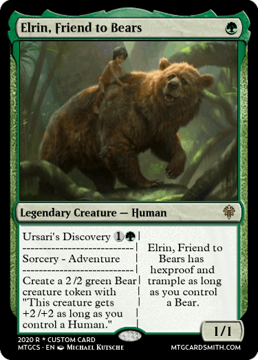 Elrin, Friend to Bears