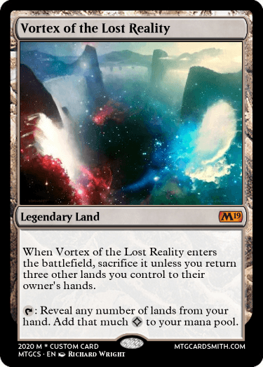 Vortex of the Lost Reality