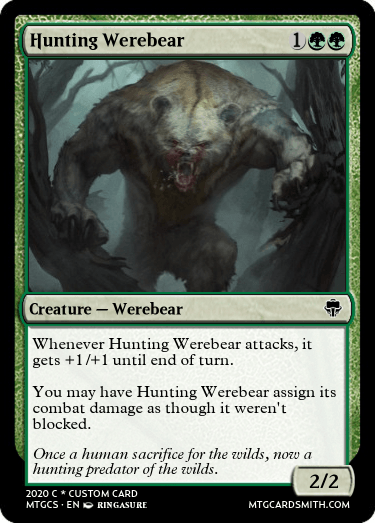 Hunting Werebear