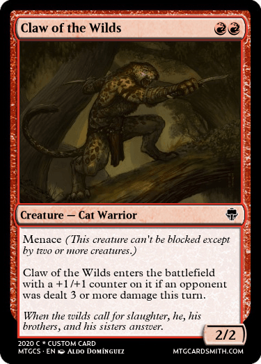 Claw of the Wilds