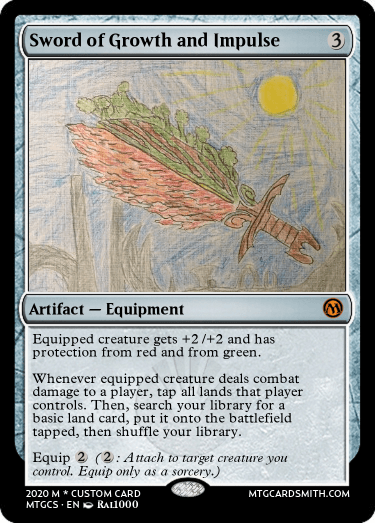 Sword of Growth and Impulse