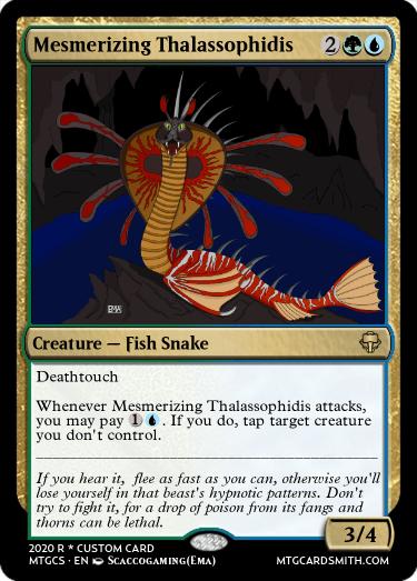 Mesmerizing Thalassophidis