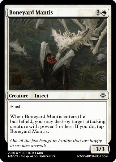Boneyard Mantis