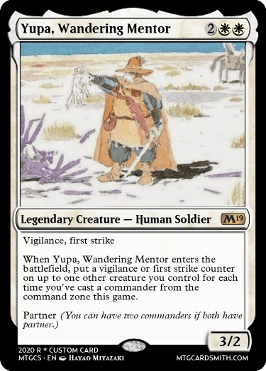 Yupa Wandering Mentor