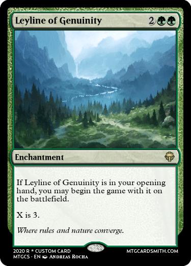 Leyline of Genuinity