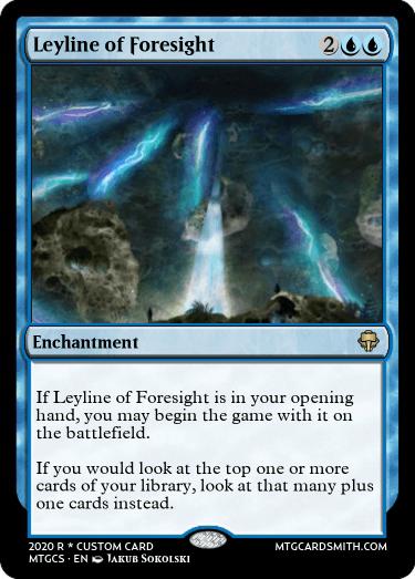 Leyline of Foresight