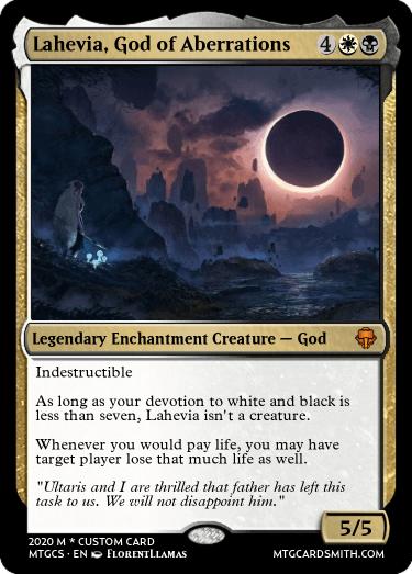 Lahevia God of Aberrations