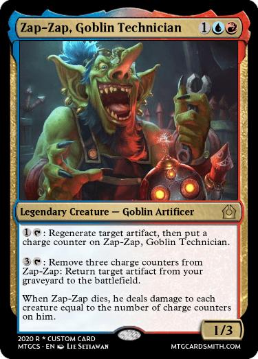 Zap-Zap Goblin Technician