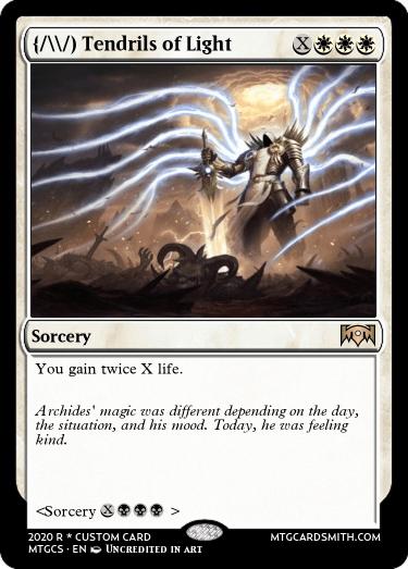 Tendrils of Light