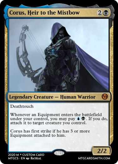 Corus Heir to the Mistbow