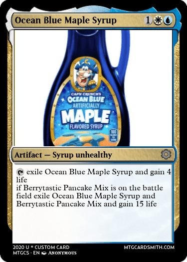 Ocean Blue Maple Syrup