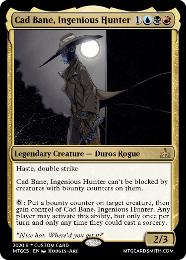 Cad Bane Ingenious Hunter
