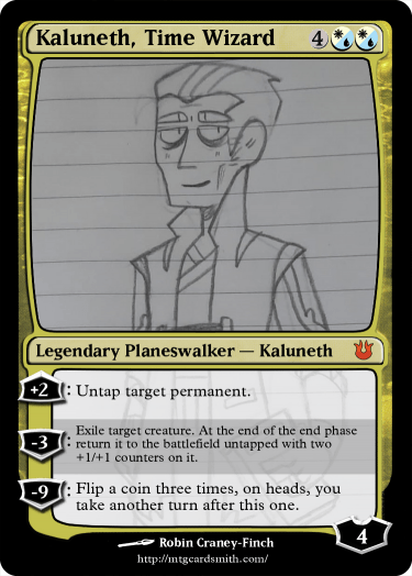 Kaluneth, Time Wizard