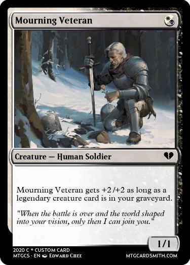 Mourning Veteran