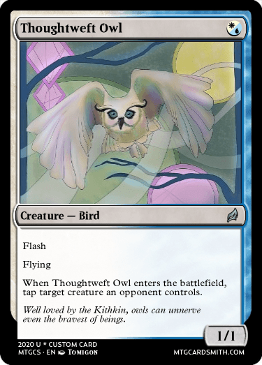 Thoughtweft Owl