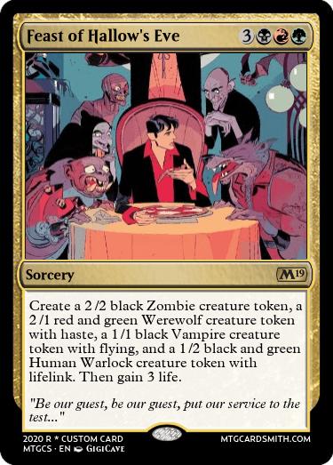 Feast of Hallows Eve