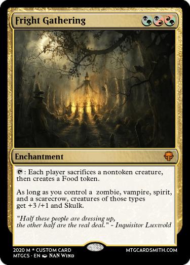 Fright Gathering
