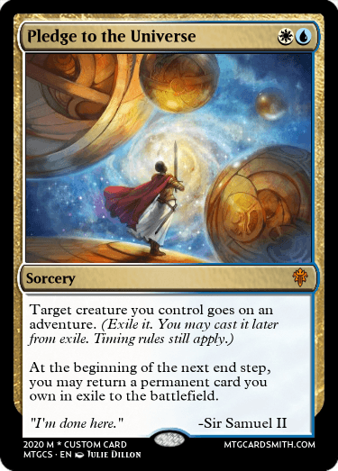 Pledge to the Universe