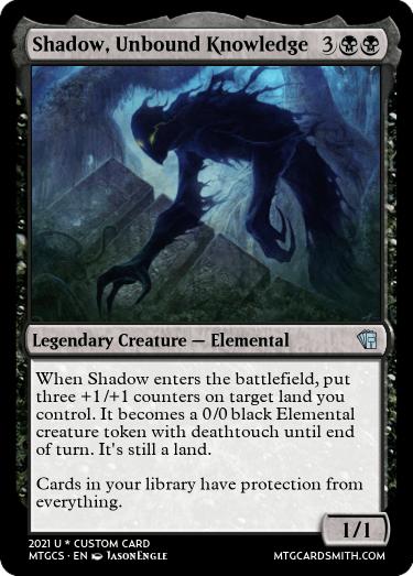 Shadow Unbound Knowledge