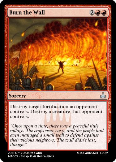 Burn the Wall
